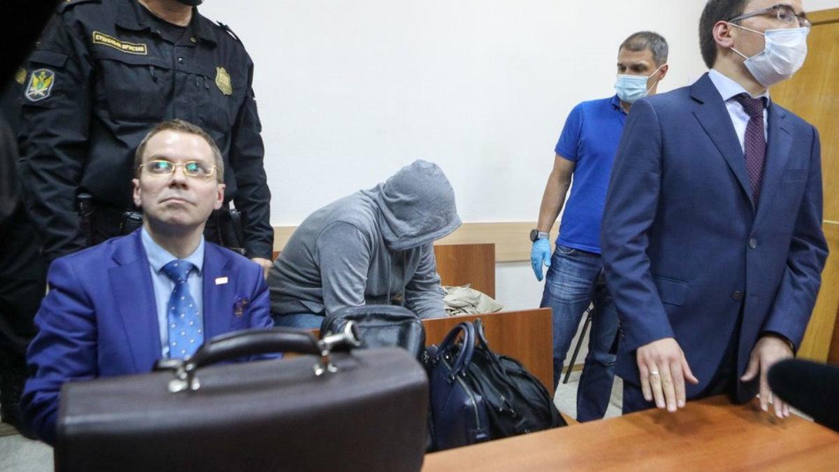 Сергей Емельченков в суде