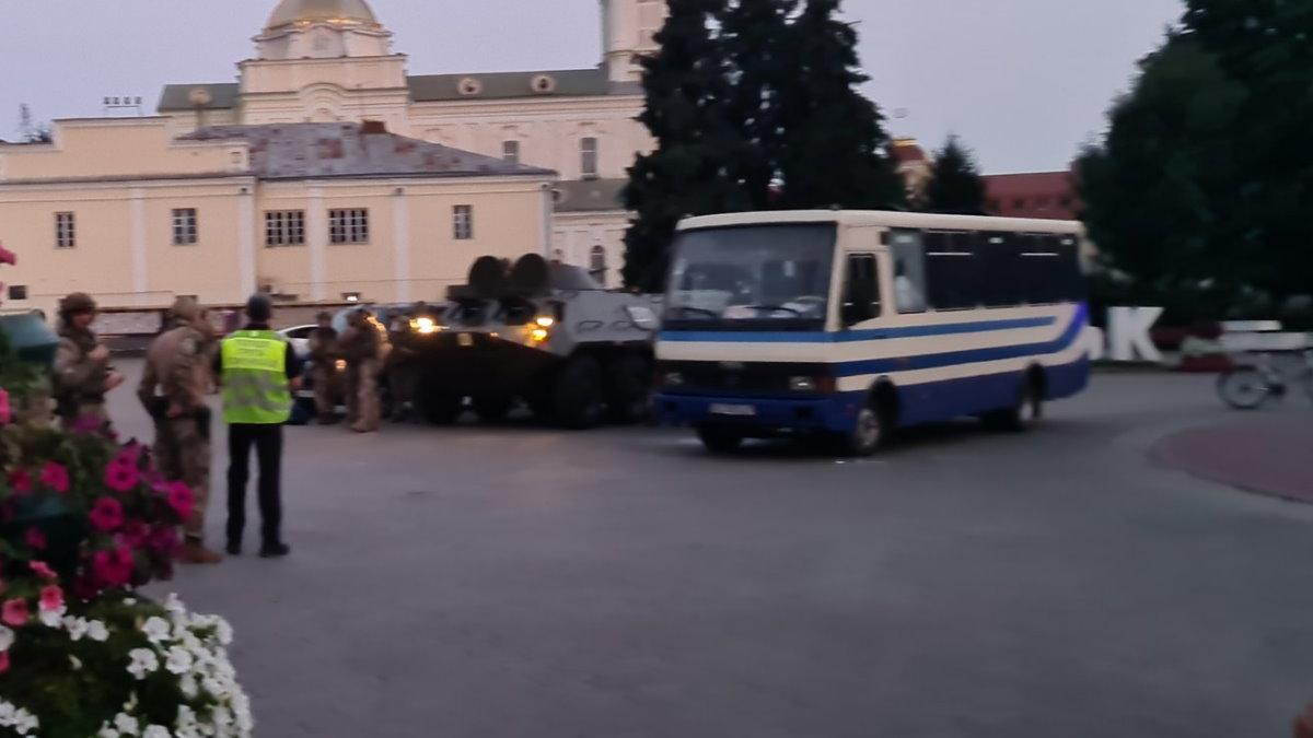 Штурм Заложники автобус Луцк