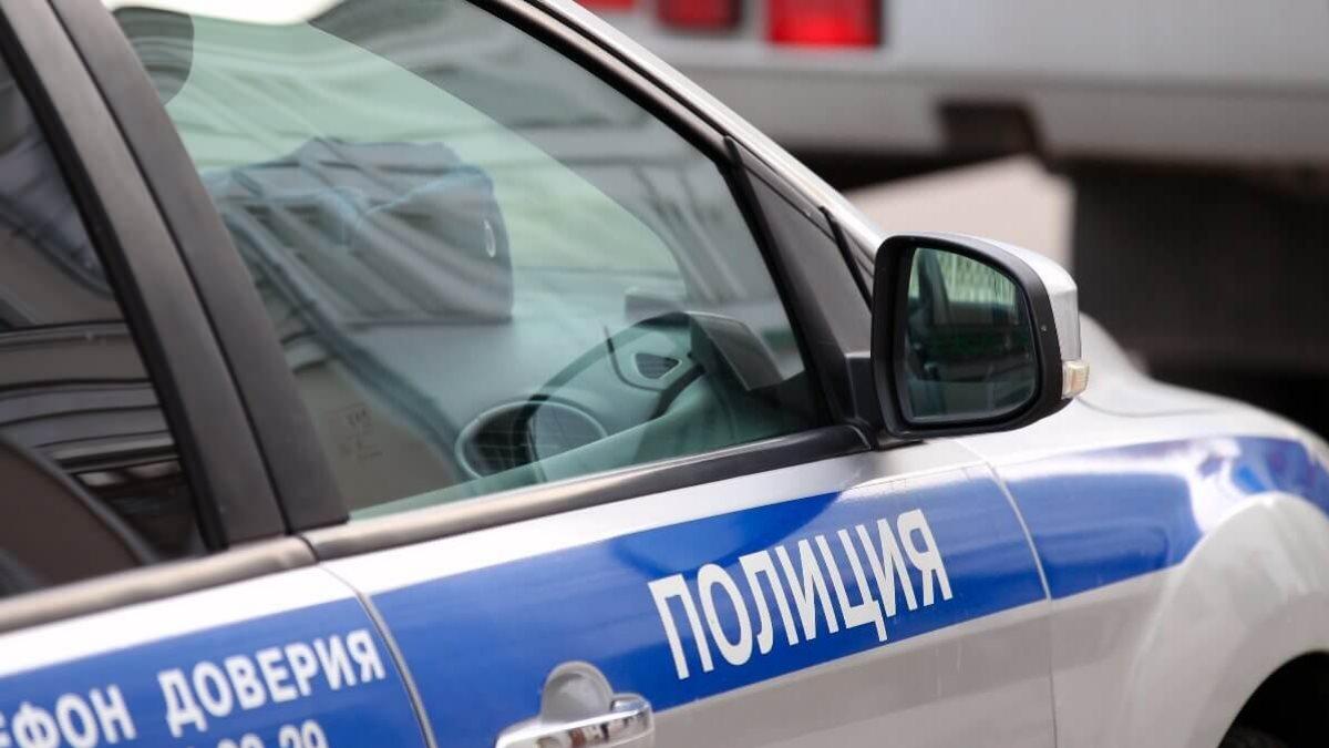 Россия Полиция полицейская машина один