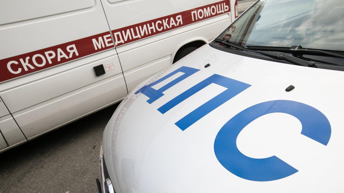 Россия Скорая помощь и ДПС машины машина