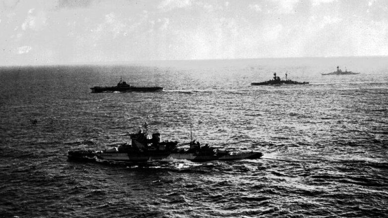 Британские боевые корабли 1942 год