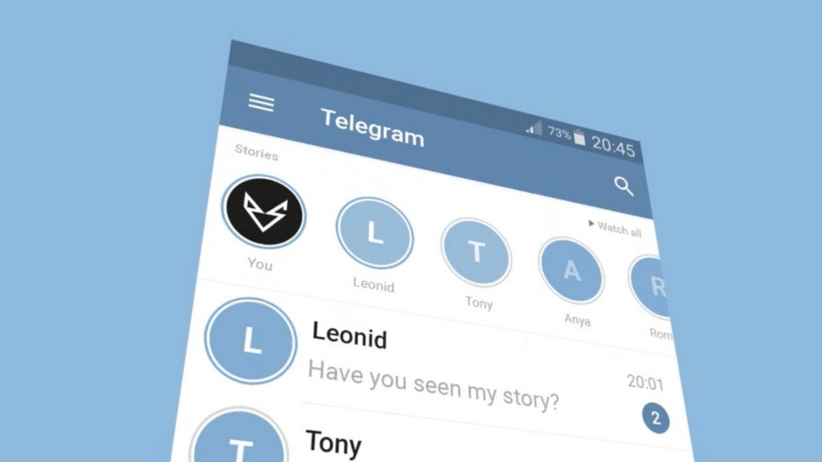 Telegram концепт
