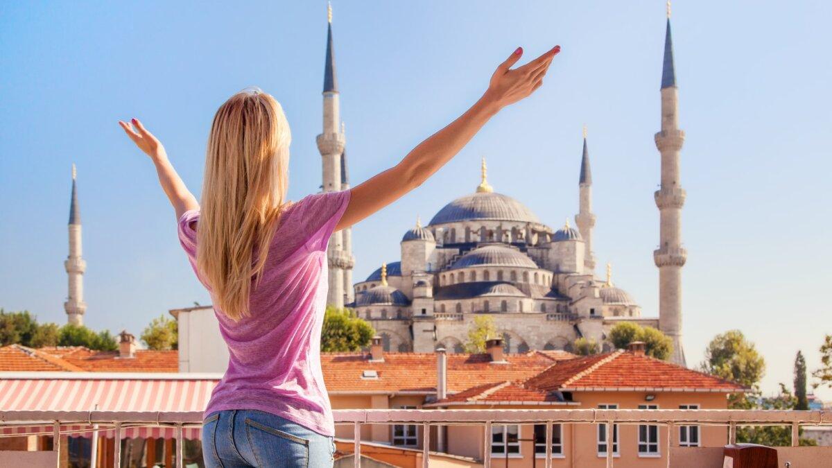 Турция Стамбул мечеть