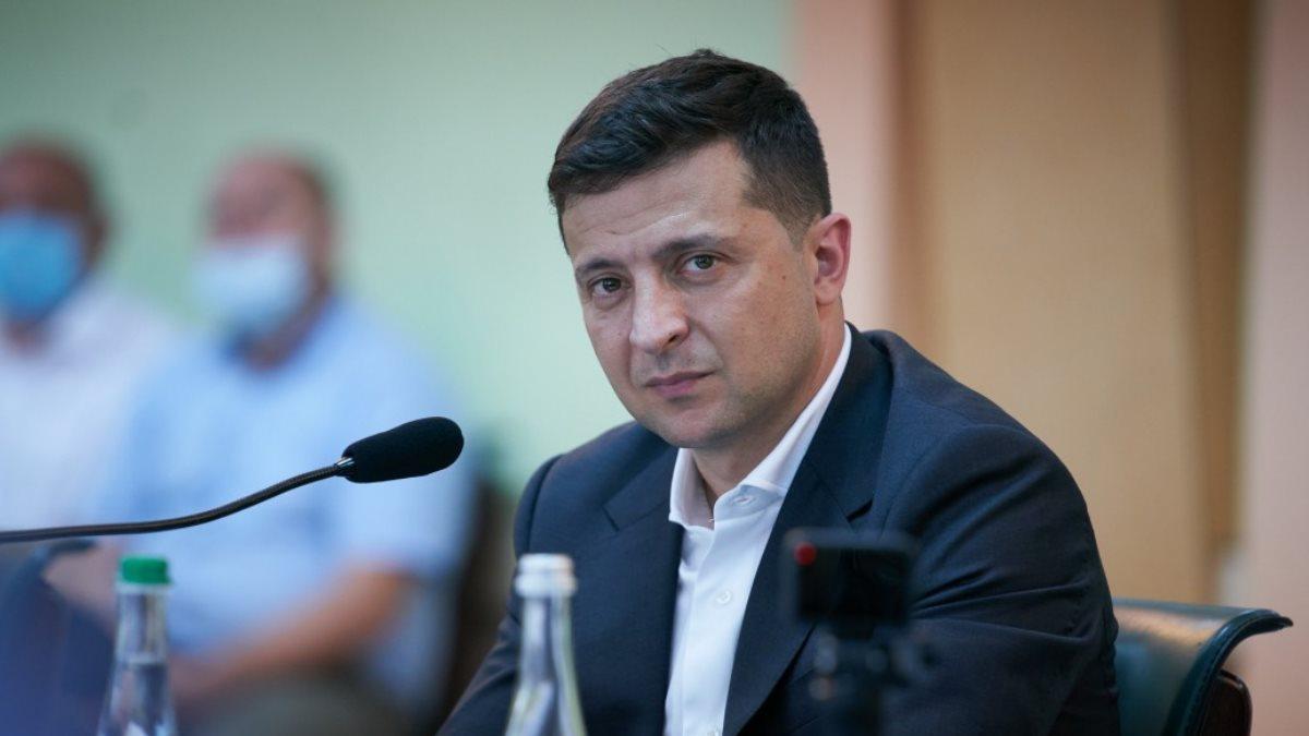 Владимир Зеленский в кресле