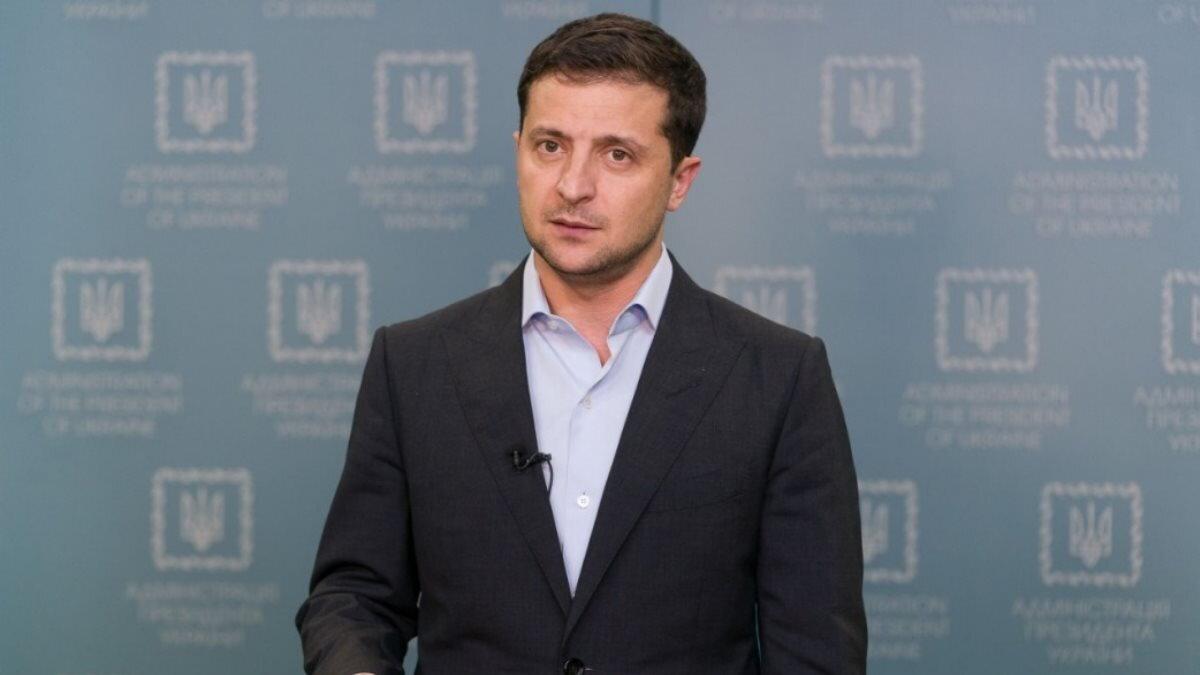 Президент Украины Владимир Зеленский выступление нейтрально