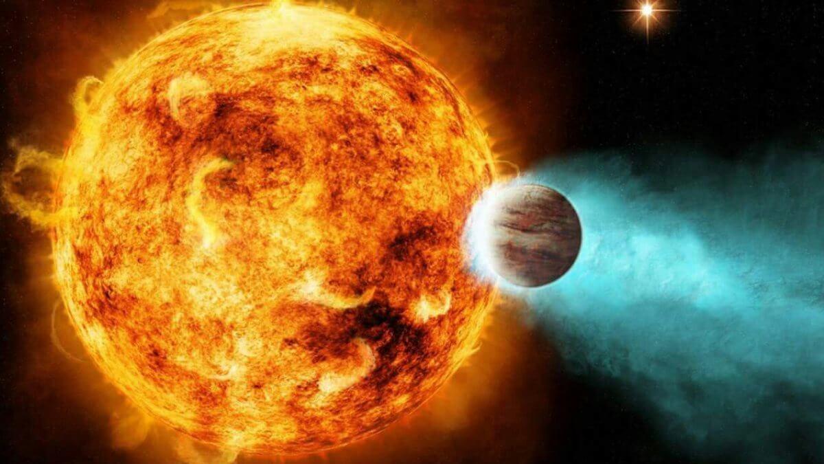 Звезда и планета