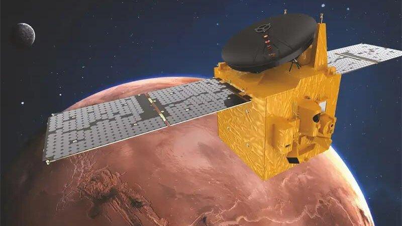 Космический аппарат «Надежда» изучит марсианскую атмосферу
