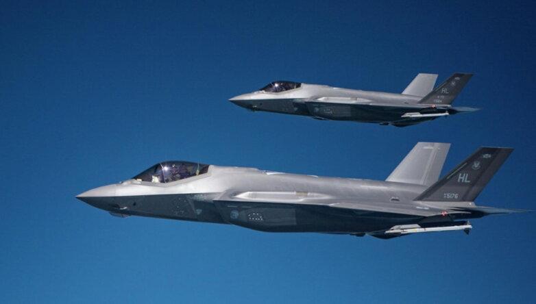Американские истребители F-35A Lightning II, США, ВВС