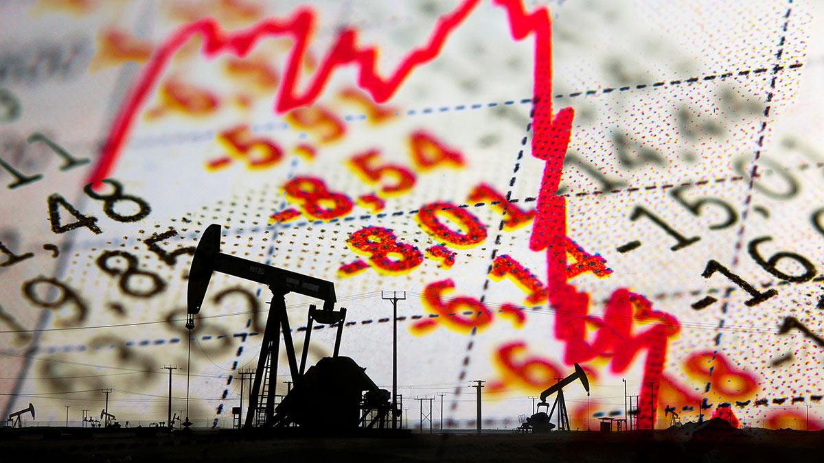 Нефть падение цен