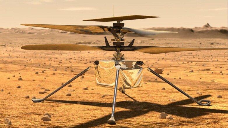 коптер для Марса