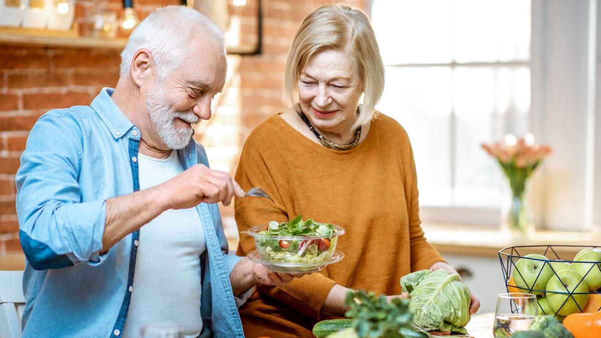 Диета здоровое питание долголетие пожилые люди пенсионеры