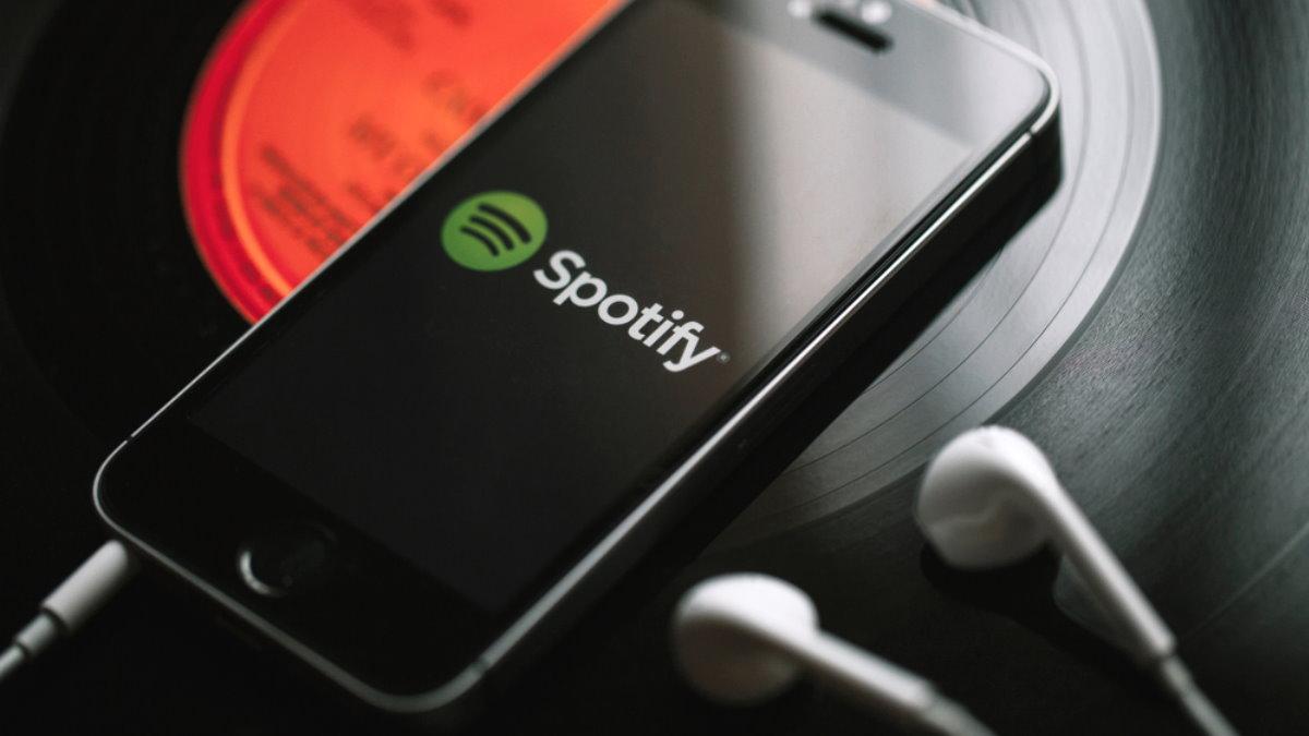 Музыкальный сервис Spotify логотип