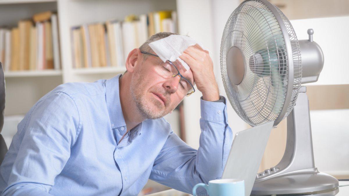 Погода жара лето вентилятор два