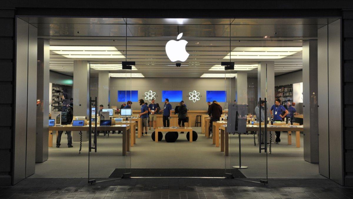 Apple магазин логотип