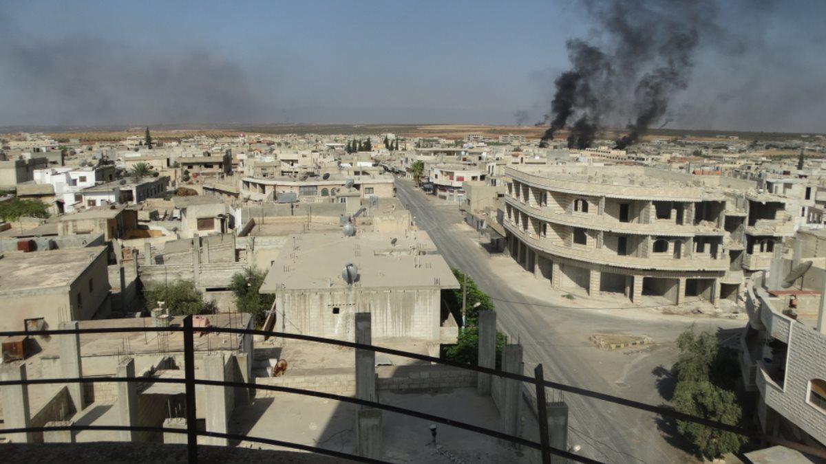 Идлиб Сирия взрыв химическая атака