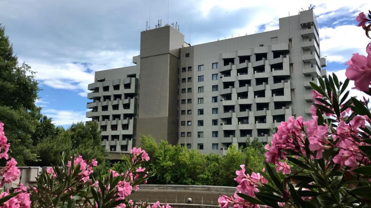 Санаторий Крым цветы