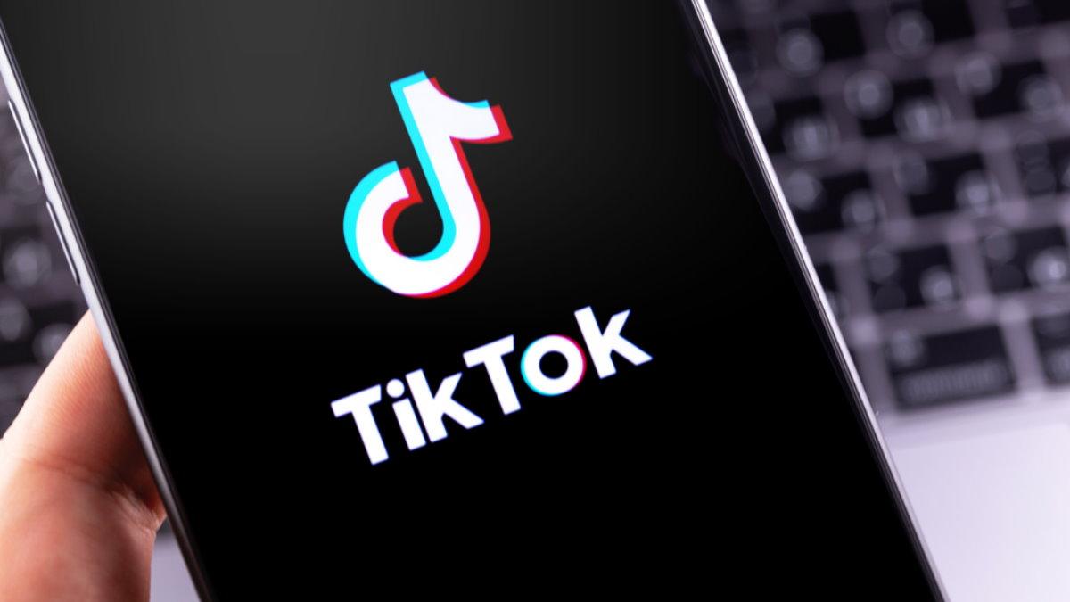 TikTok логотип один
