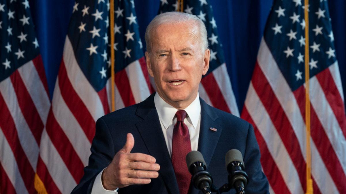 Джозеф Джо Байден - Joseph Joe Biden флаги один