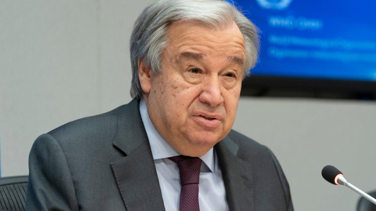 Генеральный секретарь ООН Антониу Гутерриш - Antonio Guterres два
