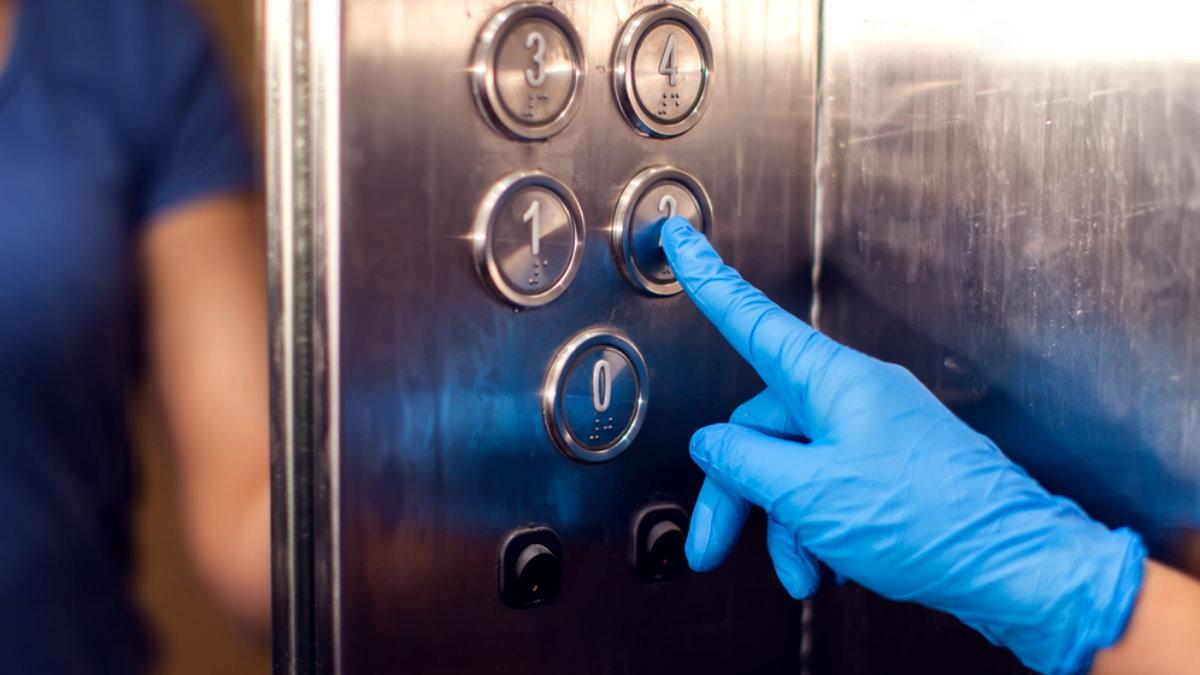 Коронавирус лифт