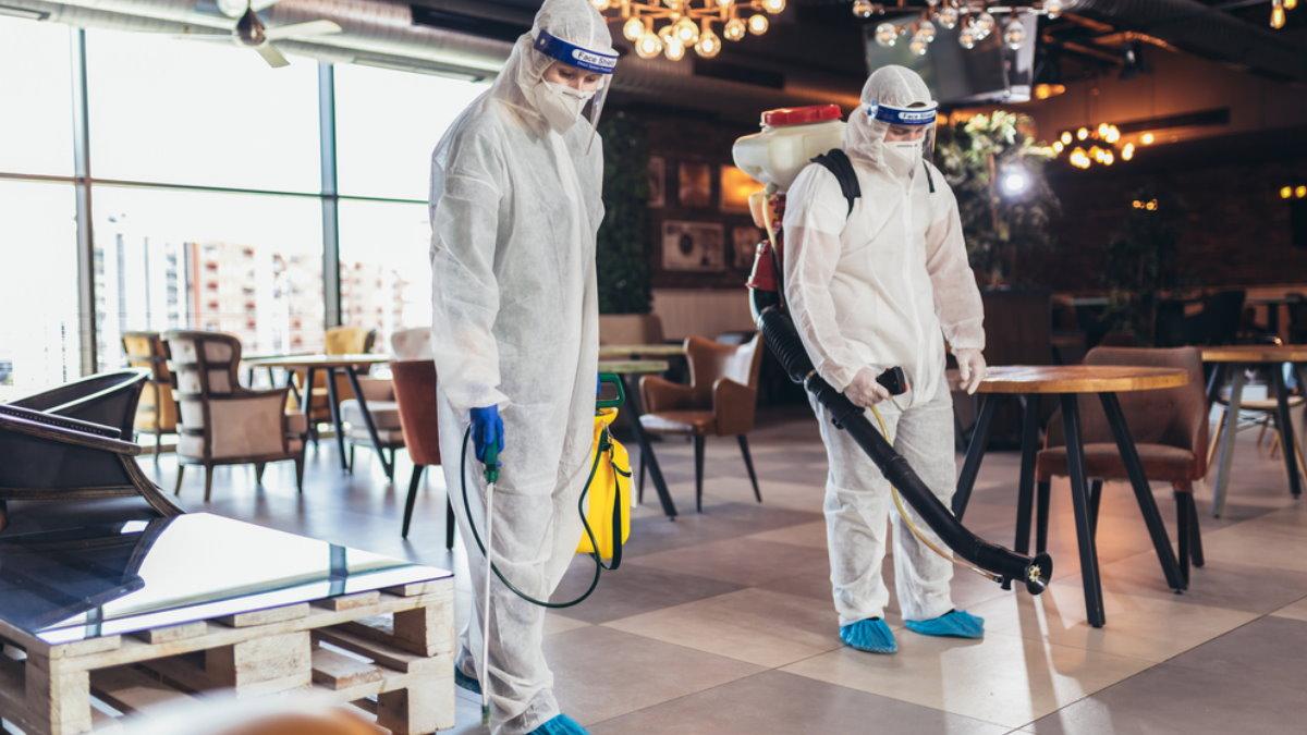 Дезинфекция обработка коронавирус ресторан