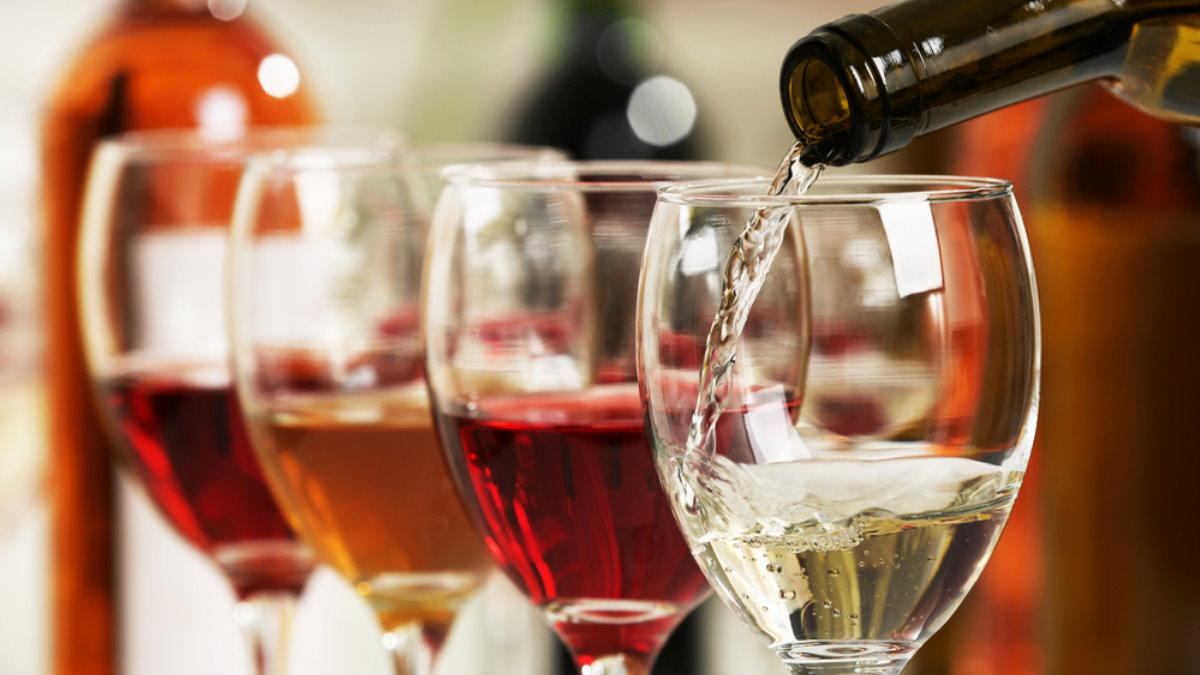 Алкоголь разные сорта вина вино дегустация