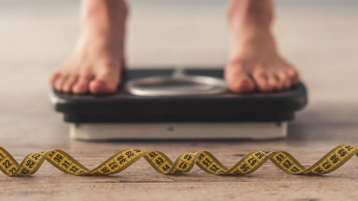 Весы лишний вес ожирение диета похудение один