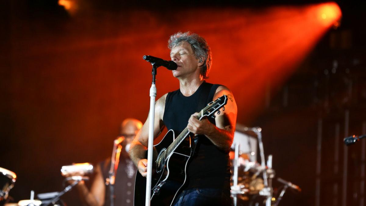 Джон Бон Джови группа Bon Jovi