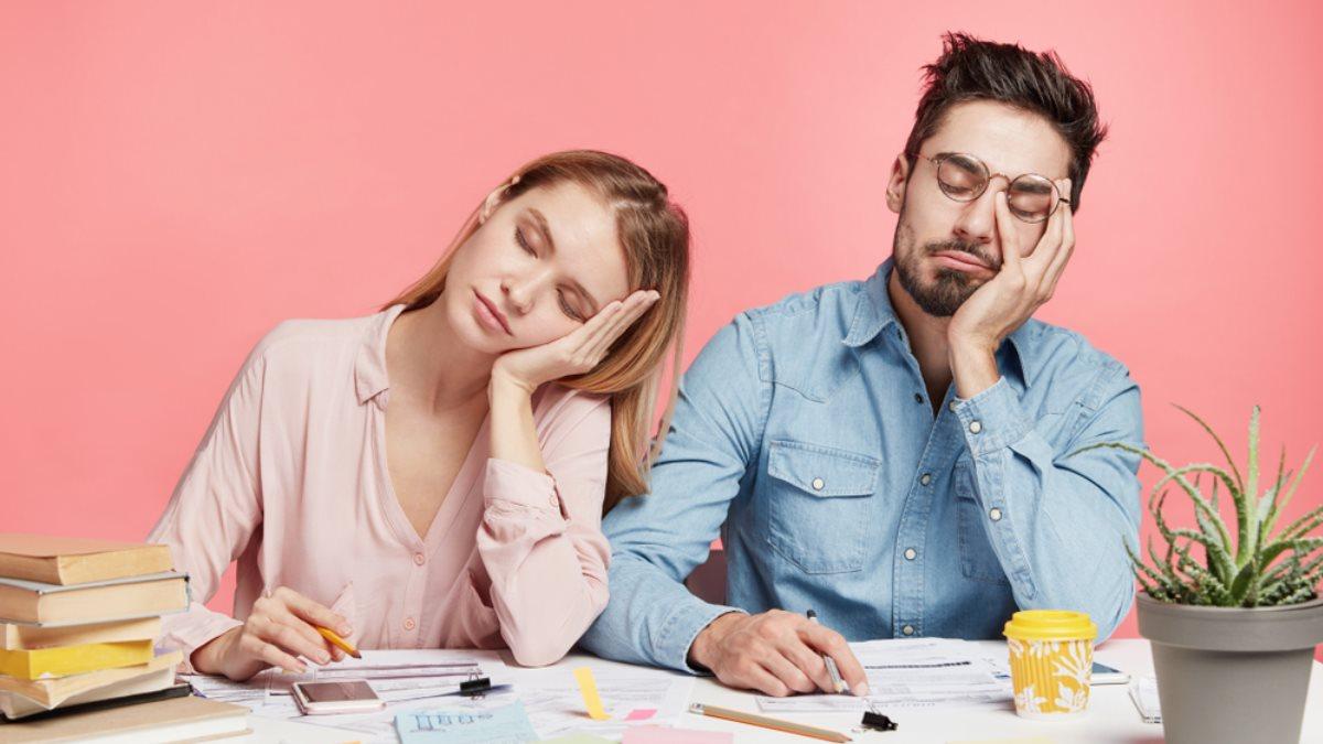 Бессонница Усталость переутомление сонливость спать эмоциональное выгорание
