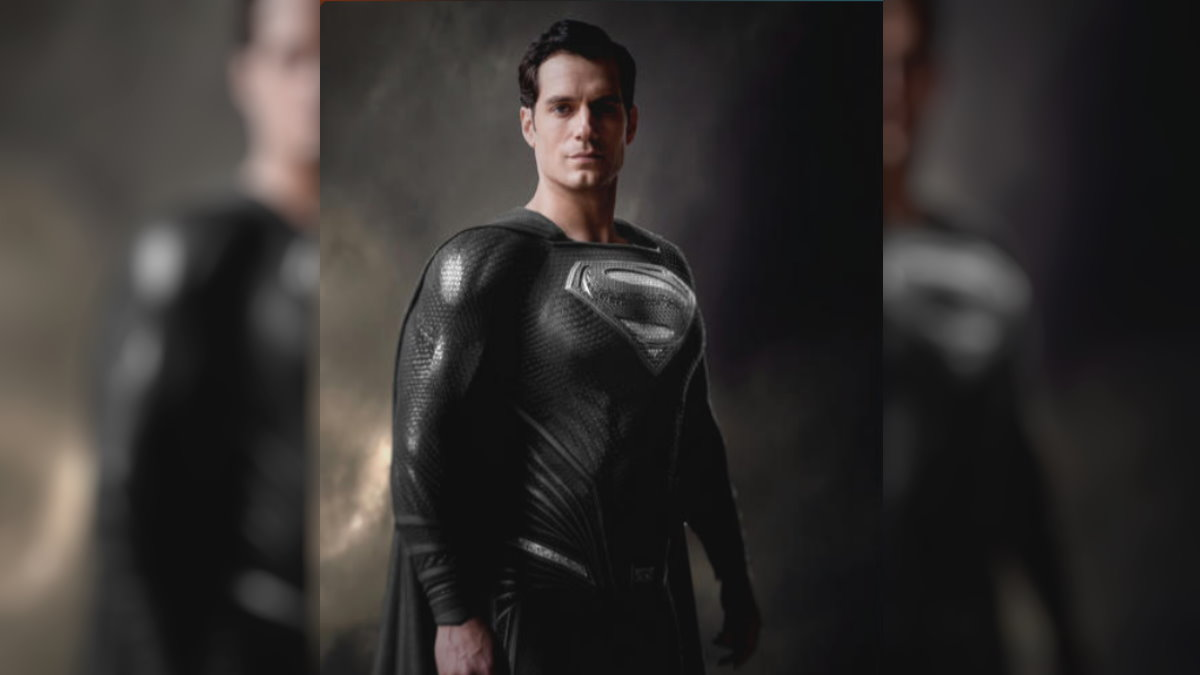 Зак Снайдер показал Супермена в чёрном