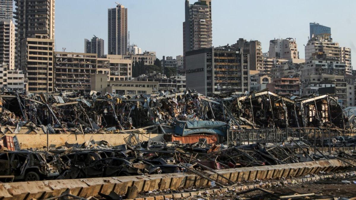Взрыв в Бейруте Ливан последствия