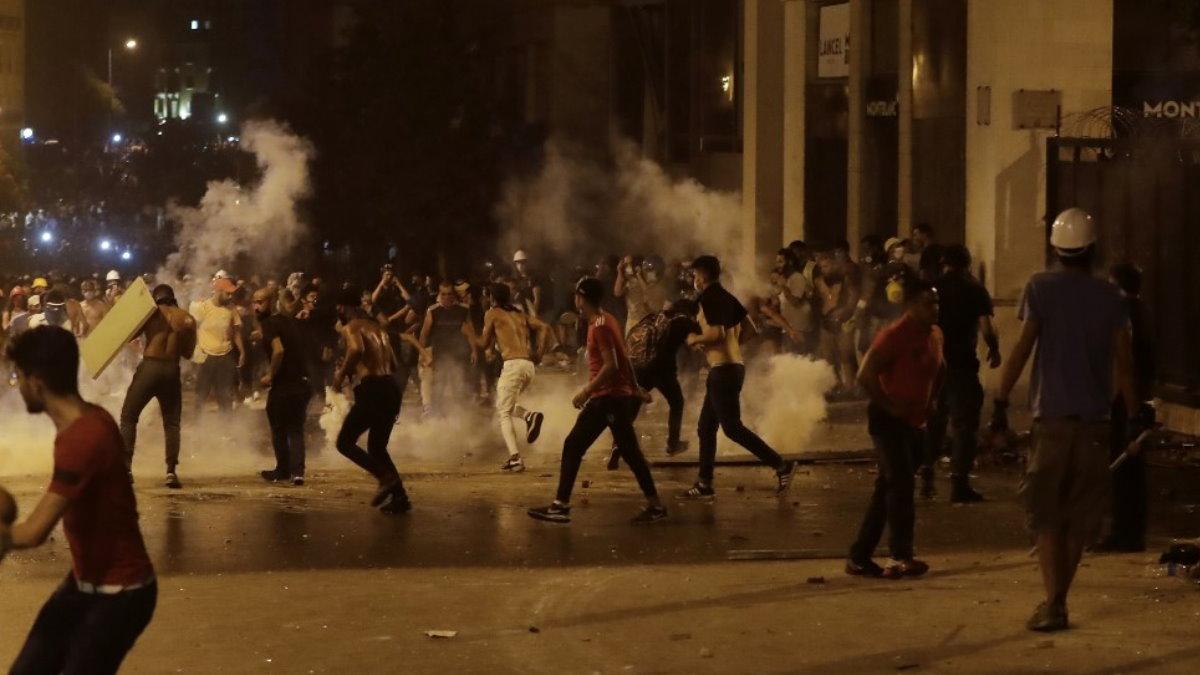 Ливан протесты