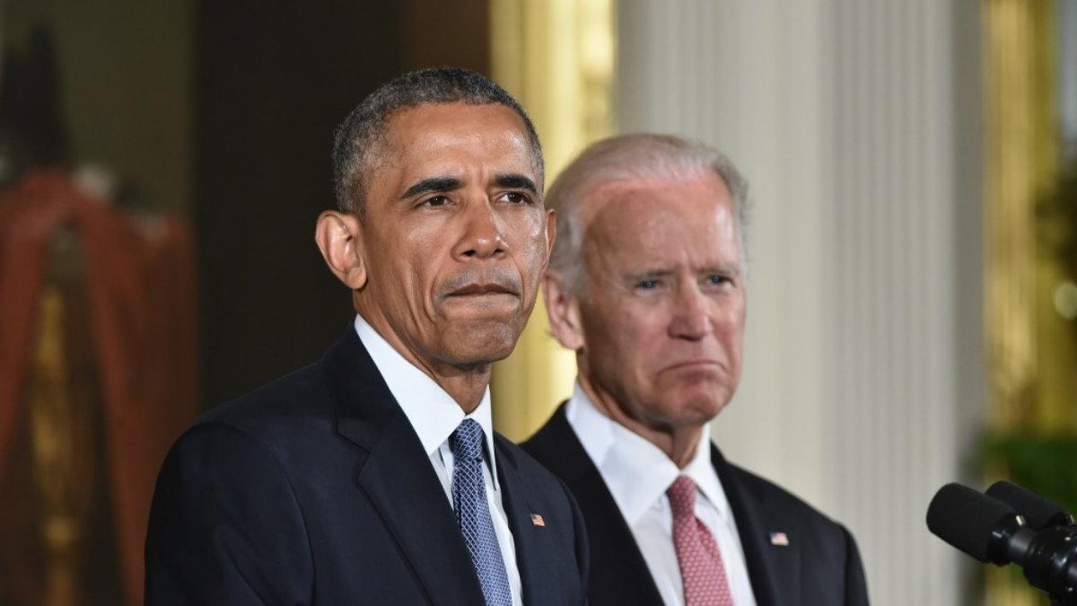 Барак Обама и Джозеф Джо Байден недовольны