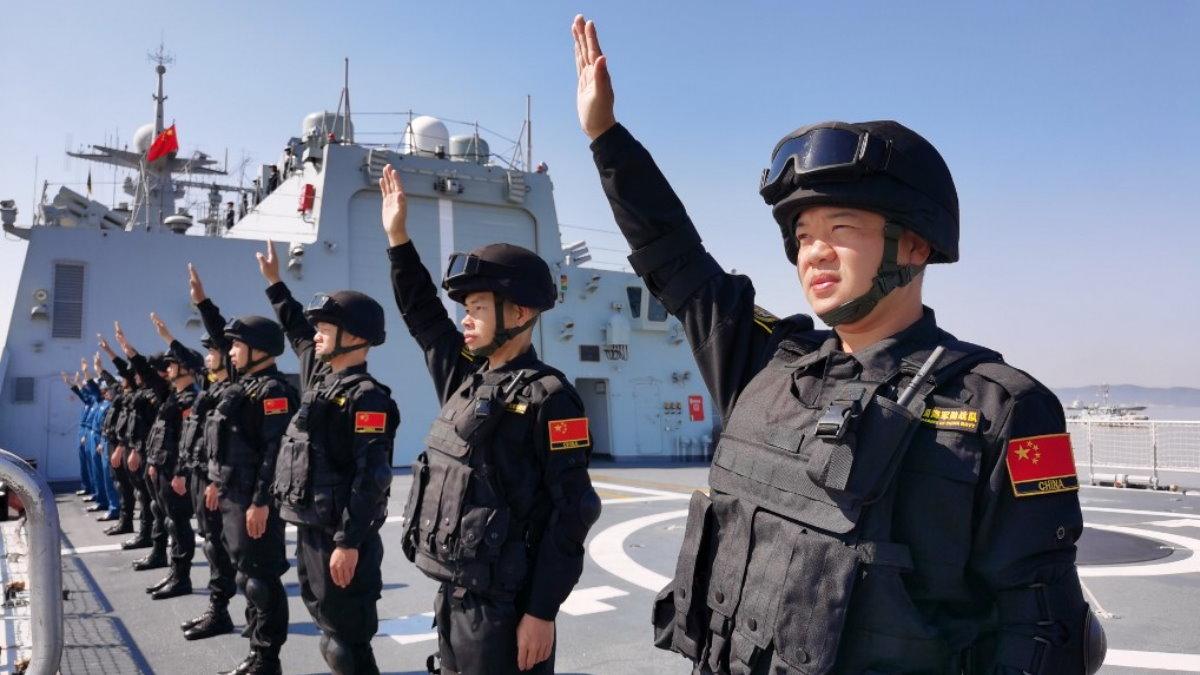 Китай флот