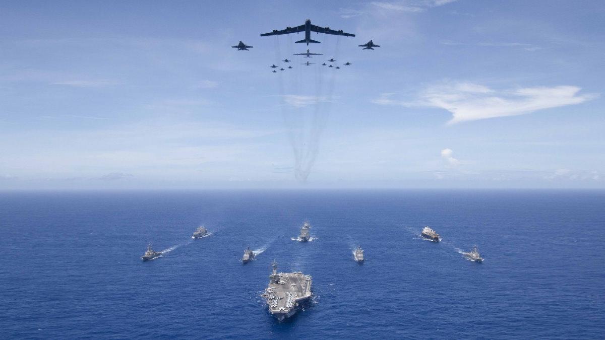 США авиация и флот вооружённые силы армия
