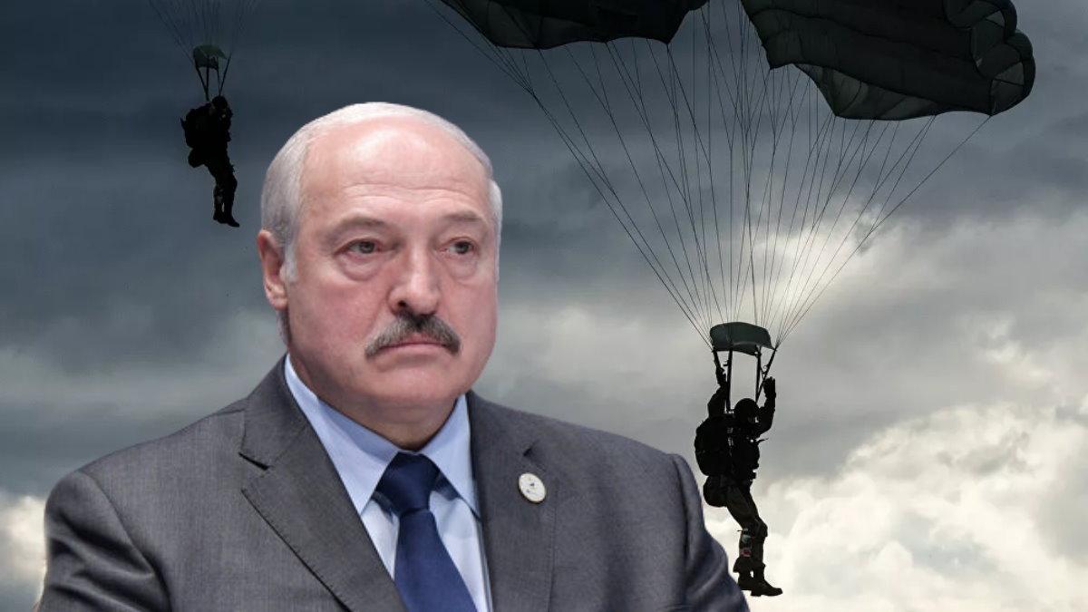 Александр Лукашенко и десантники