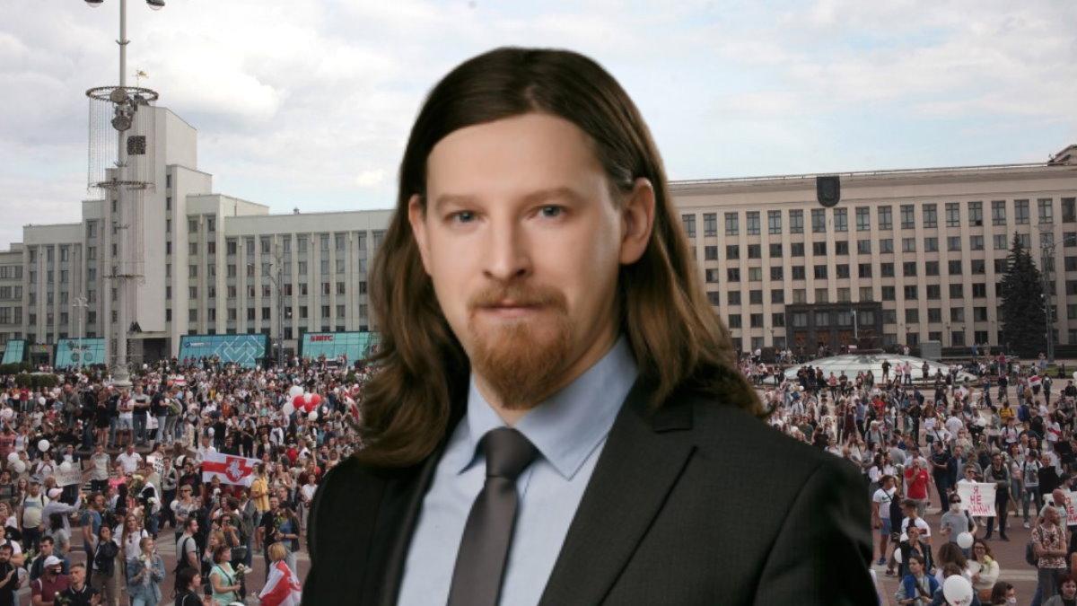 Украинский политолог Алексей Дзермант и протесты Белоруссия