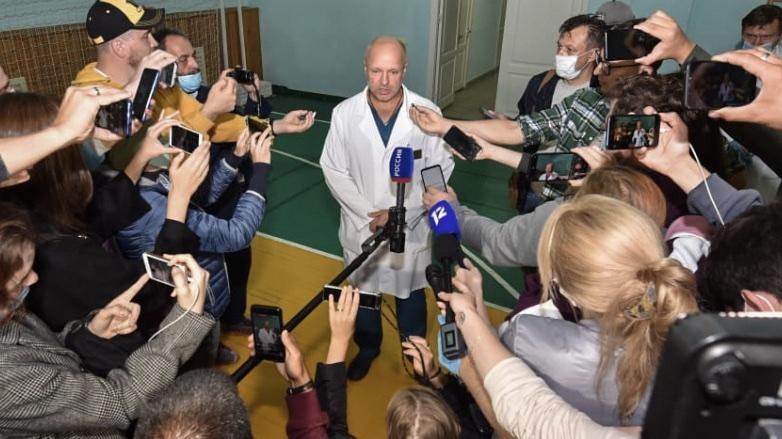 Заместитель главного врача больницы скорой медицинской помощи №1 в Омске Анатолий Калиниченко