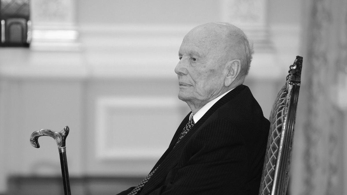 Умер Борис Патон