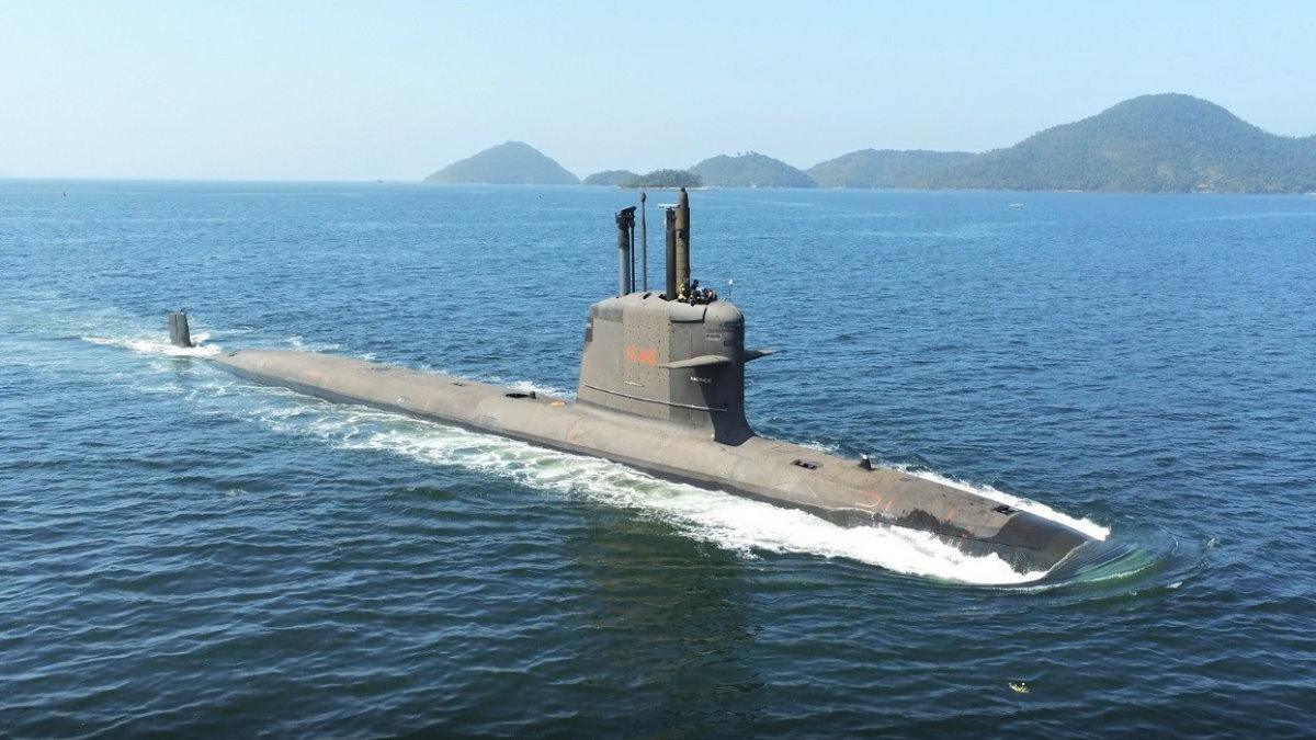 Бразильская подводная лодка S40 Riachuelo Риачуэло