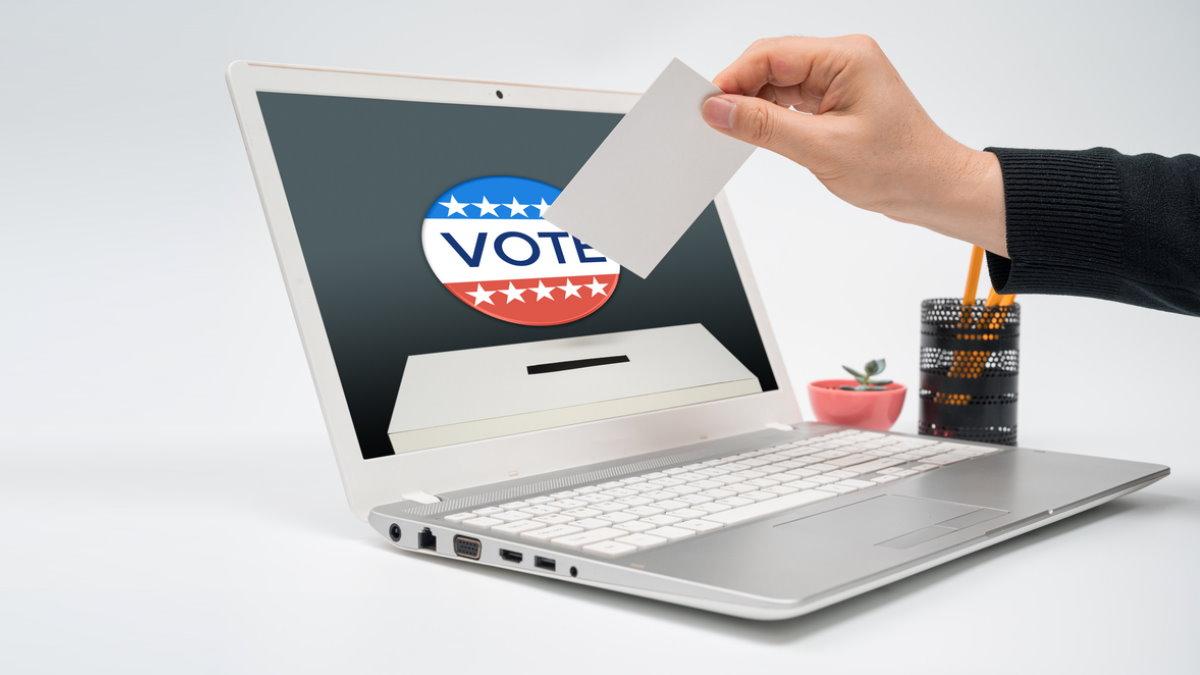 США электронное голосование по почте выборы