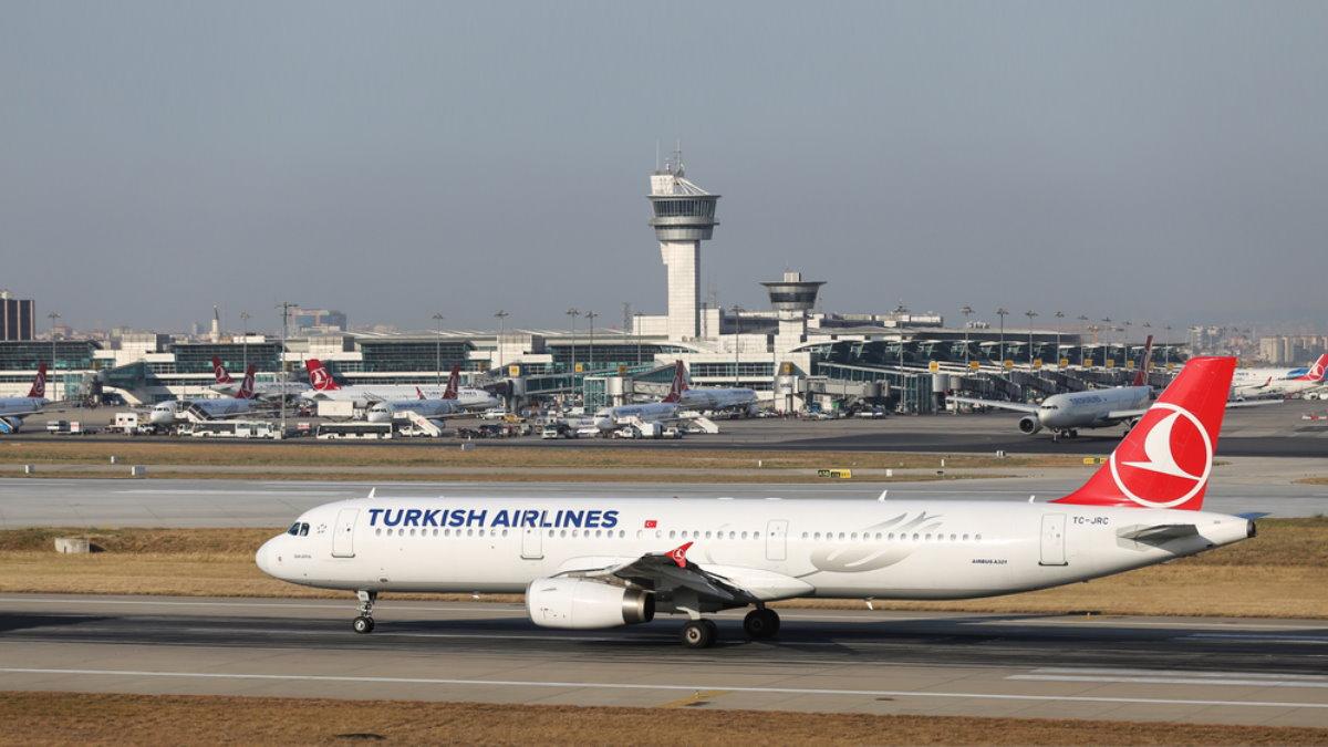 Международный аэропорт имени Ататюрка в Стамбуле Турция