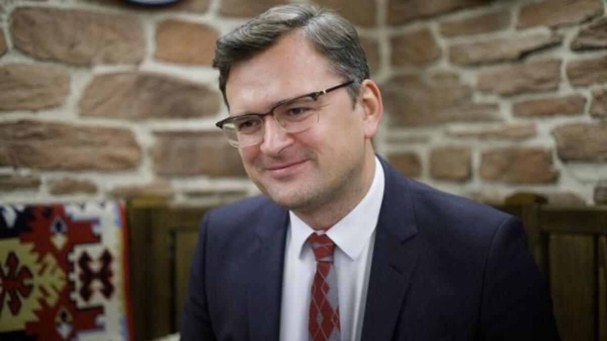 Министр иностранных дел Украины Дмитрий Кулеба два