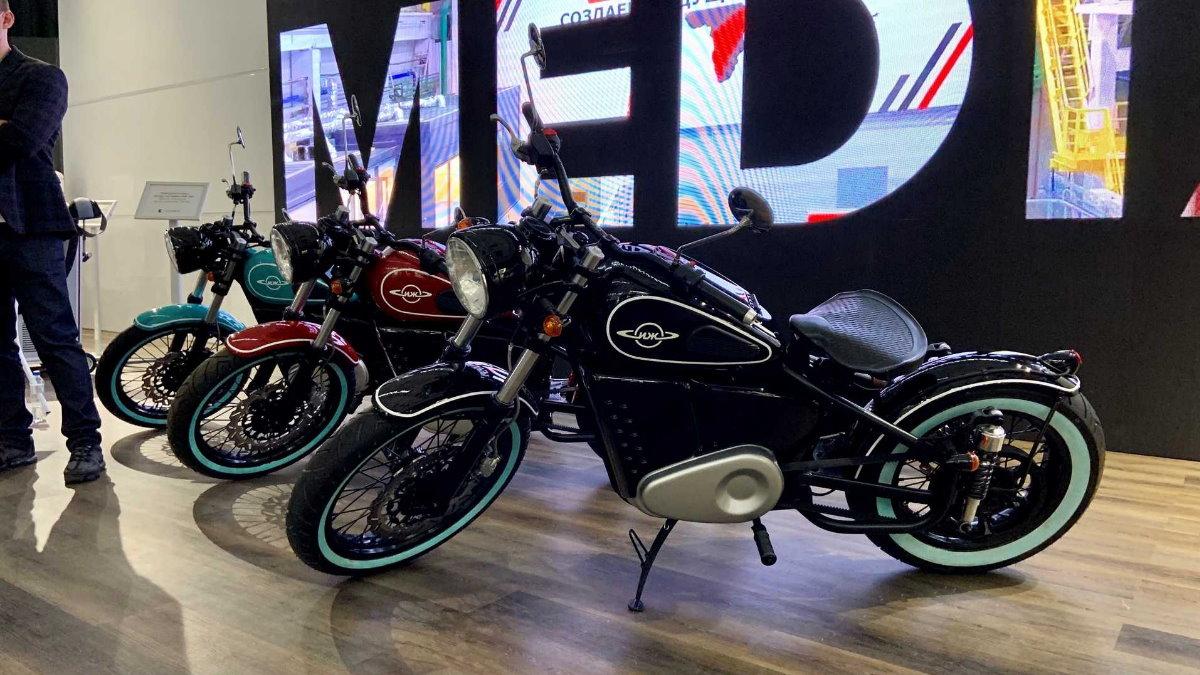 Электрический мотоцикл Иж-49