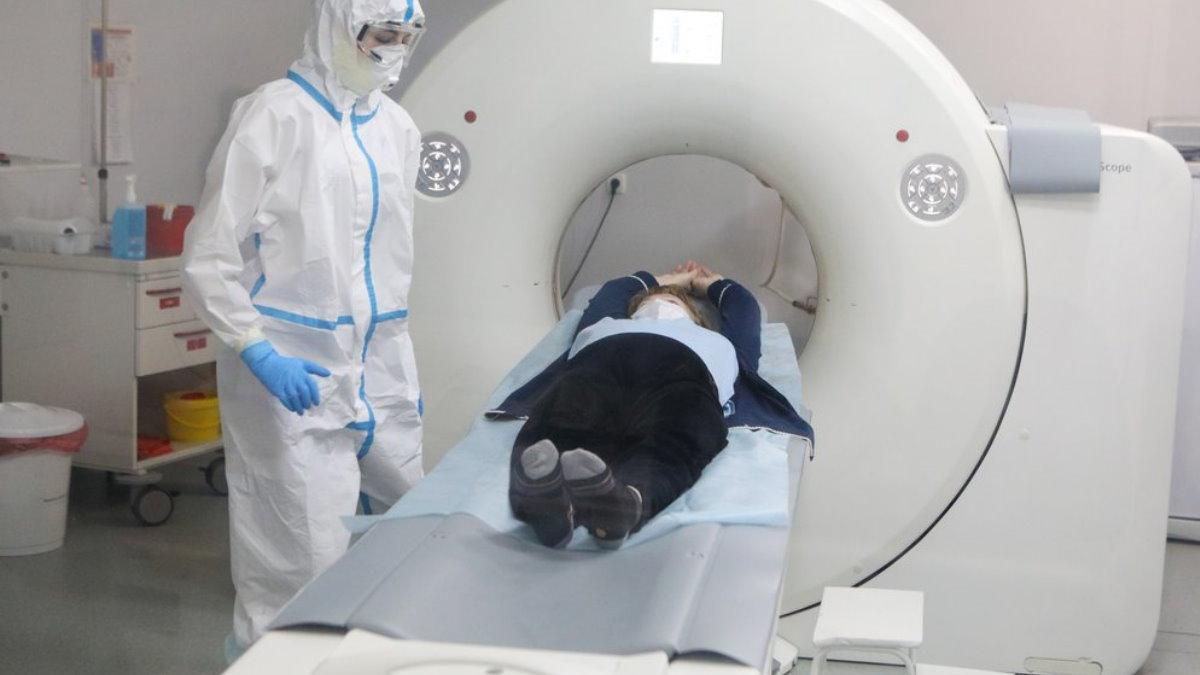 Коронавирус компьютерная томография рентген больница три