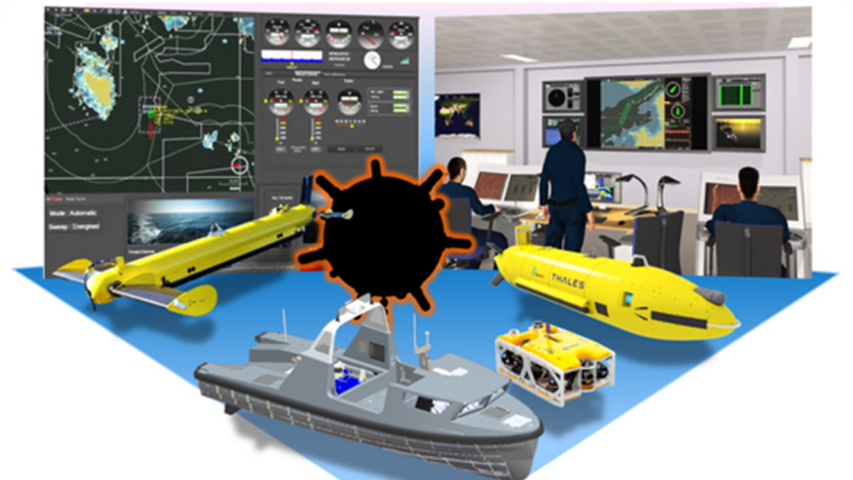MMCM Maritime Mine Counter Measures мины