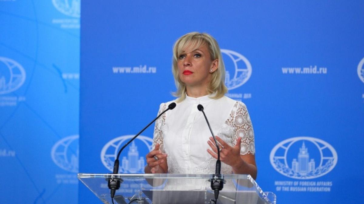 Официальный представитель МИД России Мария Захарова семь