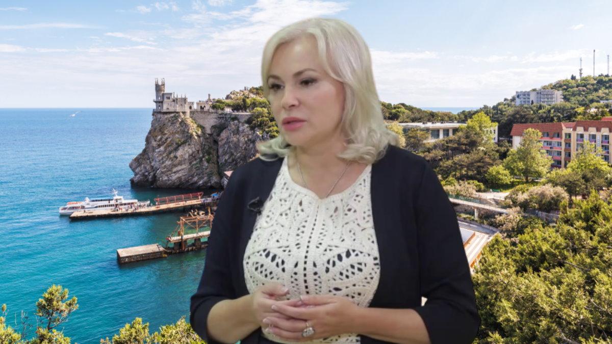 Сенатор Ольга Ковитиди и Крым