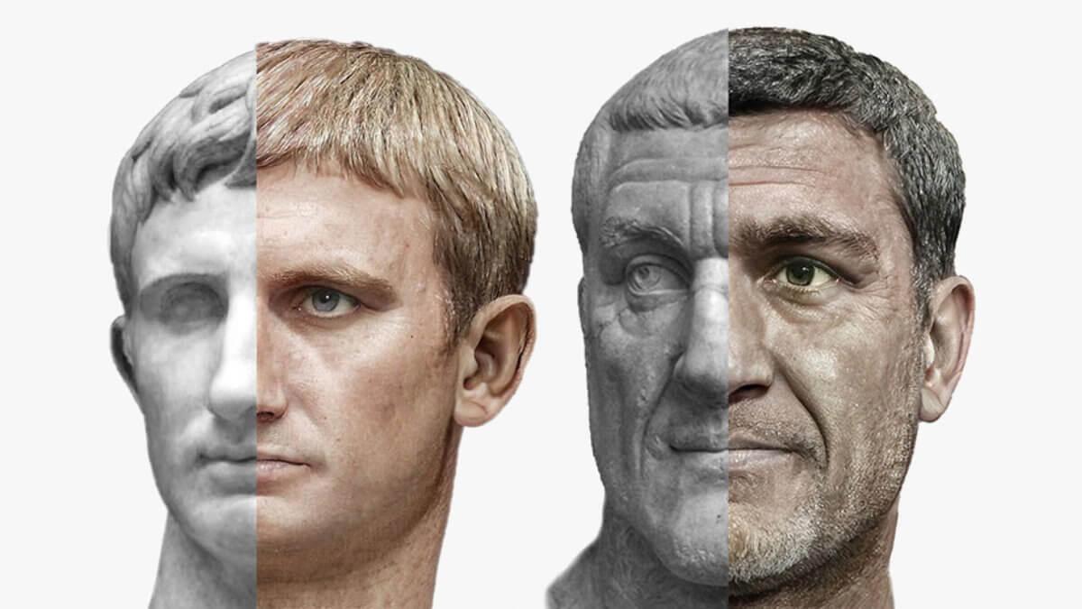 Римские императоры Август и Максимин