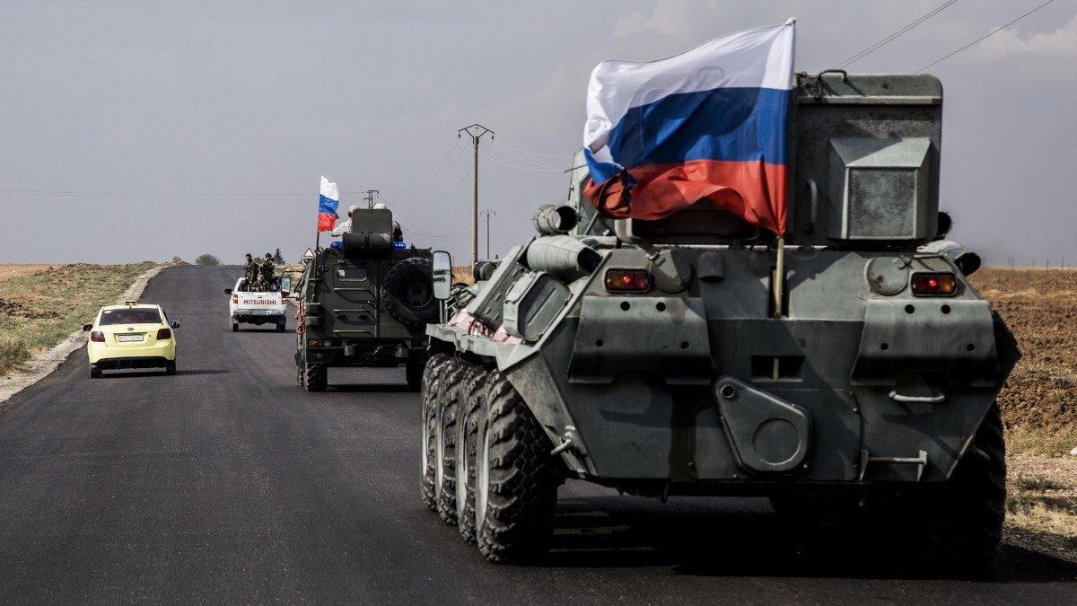 Российская военная полиция в Сирии Россия Сирия